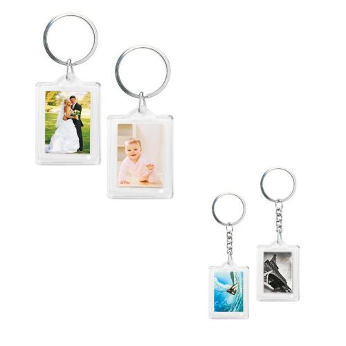 Keychain with Photo Frame